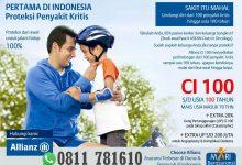 Photo of Asuransi Penyakit Kritis Pertama di Indonesia