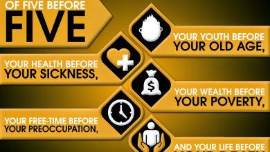 Photo of Memahami 5 Perkara Sebelum 5 Perkara Dalam Kehidupan Secara Luas