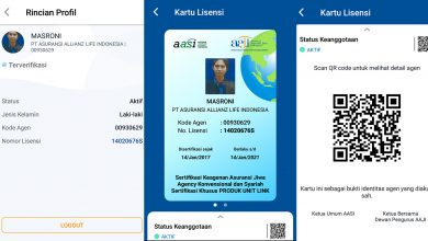 Photo of Aplikasi AAJI E‐License, Pengganti Kartu Agen Asuransi